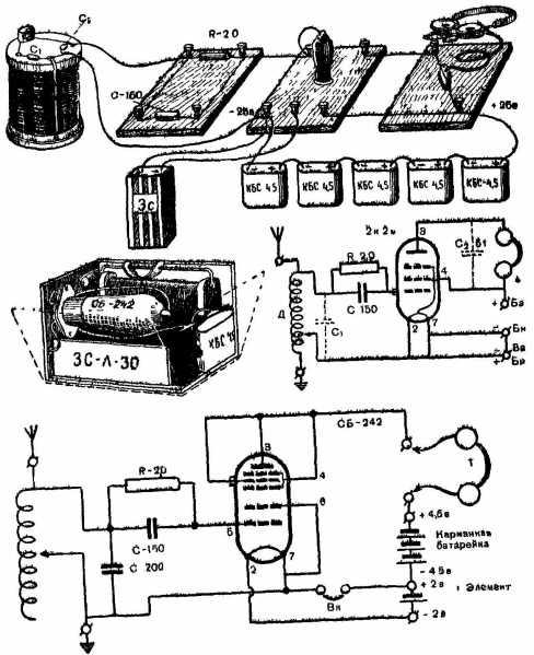 Опыты с радиолампой: Ламповый