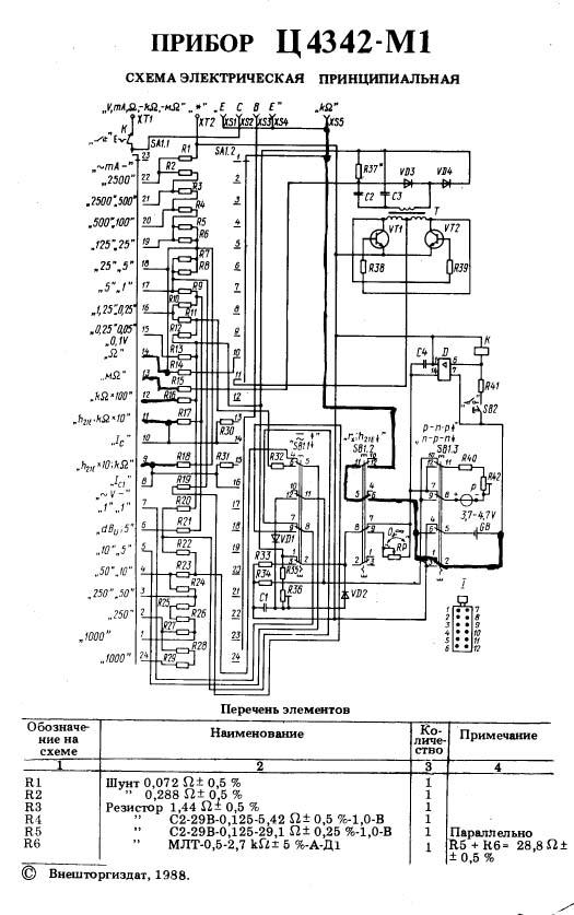 Авометр Ц 4342-М1