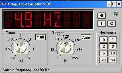 Частотомер к компьютеру
