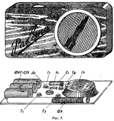 Простой карманный приемник на полупроводниковых триодах