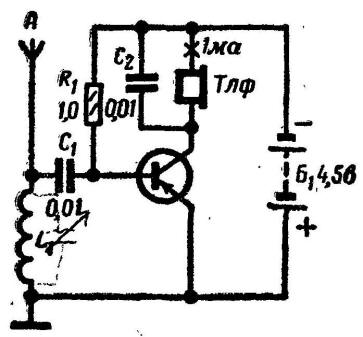 Радиоприемники на одном транзисторе своими руками