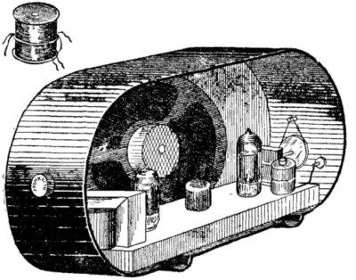 Двухламповый батарейный приемник
