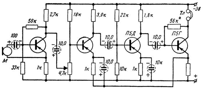 Схема слухового аппарата своими руками 55