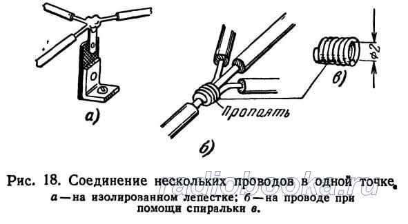 Некоторые вопросы техники монтажа радиоаппаратуры. Монтажный инструмент