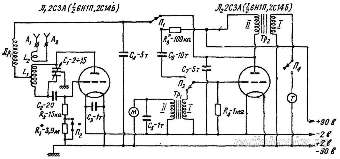 мгц. Схема радиостанции
