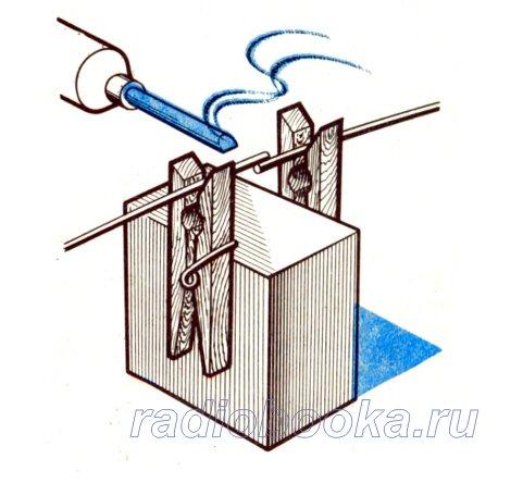 схема мини электрошокер: