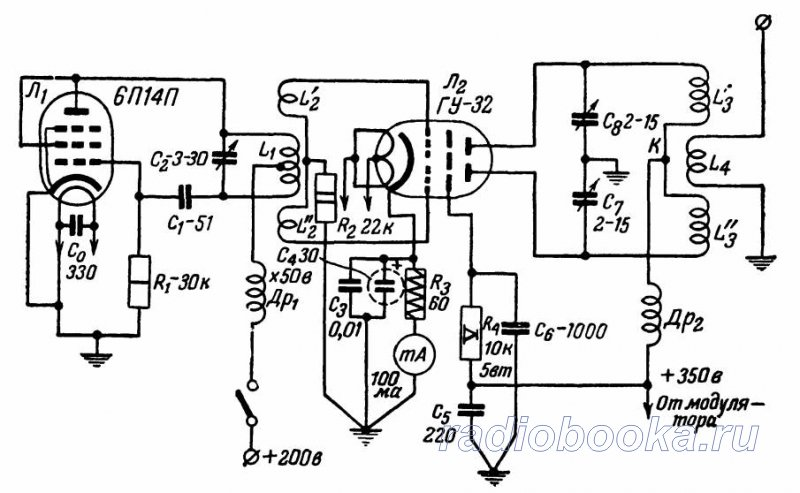 Marantz T1 - двухтактный трансформаторный усилитель на ...