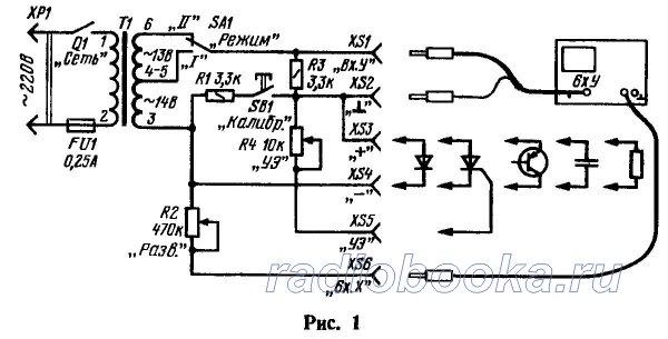 Схема приставки приведена на рис. 1. В ней использован готовый трансформатор питания Т1 - унифицированный...
