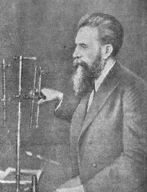 Вильгельм Рентген (1845—1923)