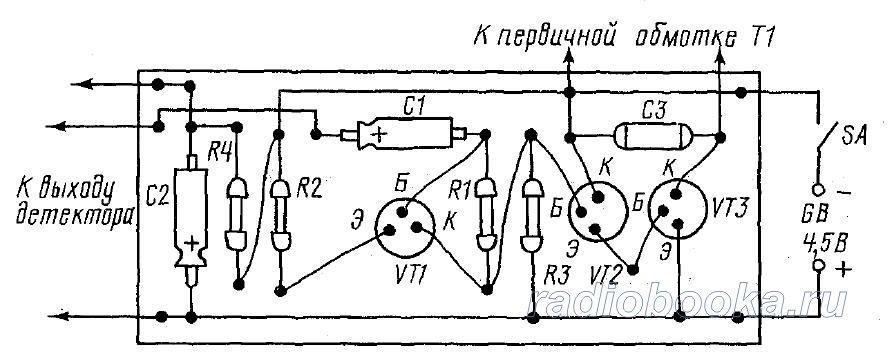Однотактный трансформаторный