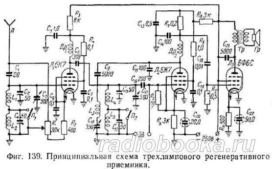 схемы регенеративных приемников - Исскуство схемотехники.