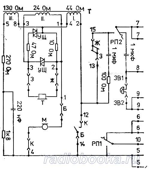 Схема ТА DC 2300