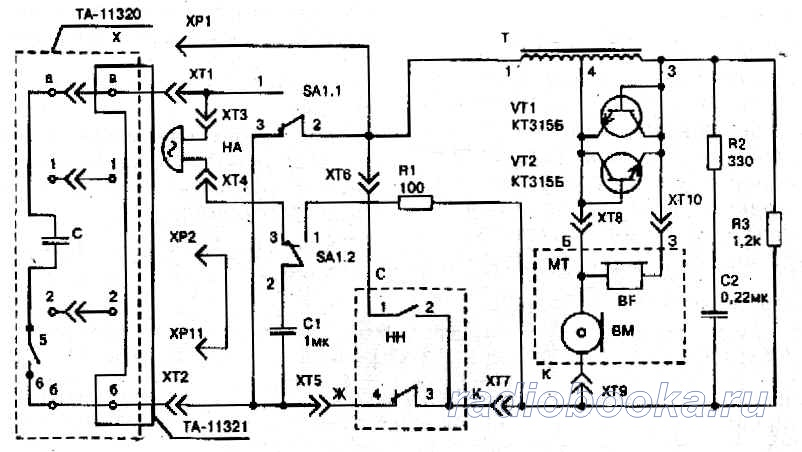 Схема эффекта спектр 3