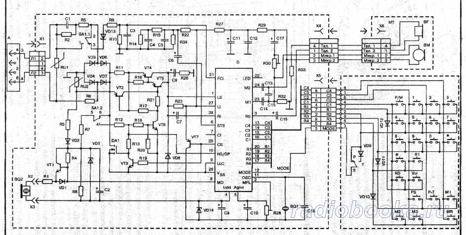 Схема ТА Телта 214