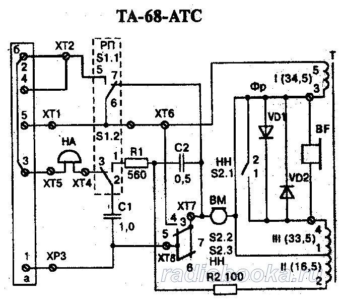 Телефонный аппарат ТА-68