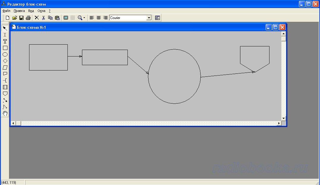 для рисования блок-схем