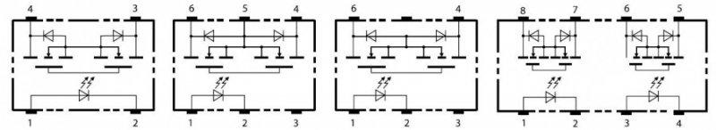 G3VM – серия твердотельных MOSFET-реле от Omron